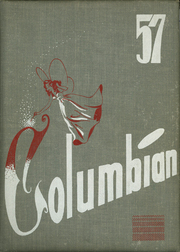 1957 Edition, Columbia High School - Columbian Yearbook (East Greenbush, NY)