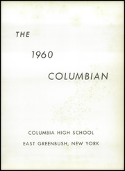 Page 5, 1960 Edition, Columbia High School - Columbian Yearbook (East Greenbush, NY) online yearbook collection