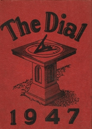 1947 Edition, South Park High School - Dial Yearbook (Buffalo, NY)