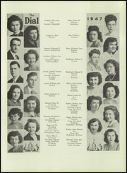 Page 15, 1947 Edition, South Park High School - Dial Yearbook (Buffalo, NY) online yearbook collection