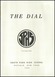 Page 5, 1950 Edition, South Park High School - Dial Yearbook (Buffalo, NY) online yearbook collection