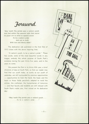 Page 7, 1950 Edition, South Park High School - Dial Yearbook (Buffalo, NY) online yearbook collection