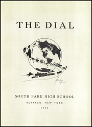 Page 5, 1953 Edition, South Park High School - Dial Yearbook (Buffalo, NY) online yearbook collection