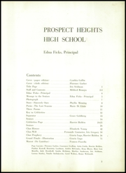 Page 7, 1950 Edition, Prospect Heights High School - Cardinal Yearbook (Brooklyn, NY) online yearbook collection