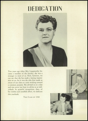 Page 6, 1948 Edition, Orchard Park High School - Quaker Yearbook (Orchard Park, NY) online yearbook collection
