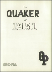 Page 5, 1951 Edition, Orchard Park High School - Quaker Yearbook (Orchard Park, NY) online yearbook collection