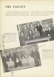 Page 12, 1950 Edition, Massena Central High School - Tatler Yearbook (Massena, NY) online yearbook collection