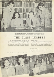 Page 16, 1950 Edition, Massena Central High School - Tatler Yearbook (Massena, NY) online yearbook collection