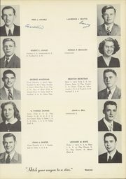 Page 17, 1950 Edition, Massena Central High School - Tatler Yearbook (Massena, NY) online yearbook collection