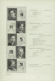 Page 16, 1931 Edition, Nottingham High School - Bulldog Yearbook (Syracuse, NY) online yearbook collection
