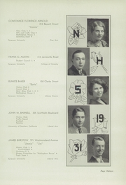 Page 17, 1931 Edition, Nottingham High School - Bulldog Yearbook (Syracuse, NY) online yearbook collection