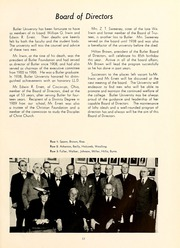 Page 17, 1944 Edition, Butler University - Carillon / Drift Yearbook (Indianapolis, IN) online yearbook collection