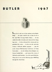 Page 15, 1947 Edition, Butler University - Carillon / Drift Yearbook (Indianapolis, IN) online yearbook collection