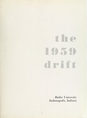 Page 7, 1959 Edition, Butler University - Carillon / Drift Yearbook (Indianapolis, IN) online yearbook collection