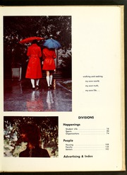 Page 7, 1972 Edition, Butler University - Carillon / Drift Yearbook (Indianapolis, IN) online yearbook collection