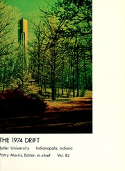 Page 5, 1974 Edition, Butler University - Carillon / Drift Yearbook (Indianapolis, IN) online yearbook collection