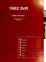 Page 5, 1982 Edition, Butler University - Carillon / Drift Yearbook (Indianapolis, IN) online yearbook collection