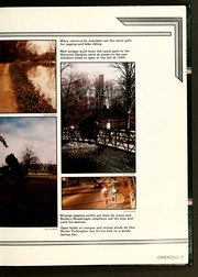 Page 11, 1986 Edition, Butler University - Carillon / Drift Yearbook (Indianapolis, IN) online yearbook collection