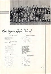 Page 15, 1939 Edition, Kensington High School - Compass Yearbook (Buffalo, NY) online yearbook collection