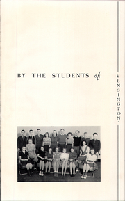 Page 7, 1939 Edition, Kensington High School - Compass Yearbook (Buffalo, NY) online yearbook collection