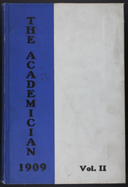 Page 1, 1909 Edition, Utica Free Academy - Academician Yearbook (Utica, NY) online yearbook collection
