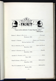Page 13, 1909 Edition, Utica Free Academy - Academician Yearbook (Utica, NY) online yearbook collection