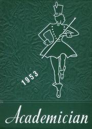 Page 1, 1953 Edition, Utica Free Academy - Academician Yearbook (Utica, NY) online yearbook collection