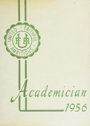 Page 1, 1956 Edition, Utica Free Academy - Academician Yearbook (Utica, NY) online yearbook collection