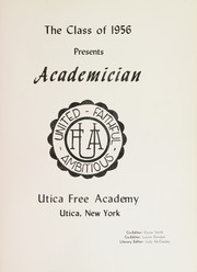 Page 5, 1956 Edition, Utica Free Academy - Academician Yearbook (Utica, NY) online yearbook collection