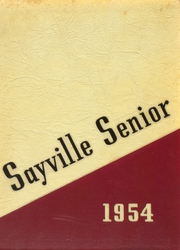 1954 Edition, Sayville High School - Senior Yearbook (Sayville, NY)