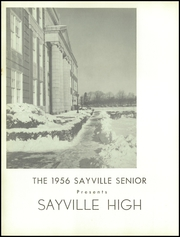Page 8, 1956 Edition, Sayville High School - Senior Yearbook (Sayville, NY) online yearbook collection
