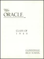 Page 5, 1940 Edition, Gloversville High School - Oracle Yearbook (Gloversville, NY) online yearbook collection