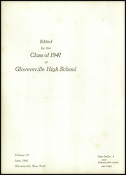 Page 6, 1941 Edition, Gloversville High School - Oracle Yearbook (Gloversville, NY) online yearbook collection