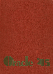 Gloversville High School - Oracle Yearbook (Gloversville, NY) online yearbook collection, 1945 Edition, Page 1