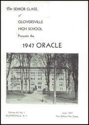 Page 5, 1947 Edition, Gloversville High School - Oracle Yearbook (Gloversville, NY) online yearbook collection