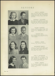 Page 14, 1945 Edition, Riverhead High School - Blue Peconic Yearbook (Riverhead, NY) online yearbook collection