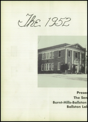 Page 6, 1952 Edition, Burnt Hills Ballston Lake High School - Hilltop Yearbook (Burnt Hills, NY) online yearbook collection