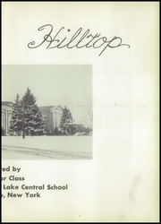 Page 7, 1952 Edition, Burnt Hills Ballston Lake High School - Hilltop Yearbook (Burnt Hills, NY) online yearbook collection