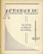 Scotia Glenville High School - Acropolis Yearbook (Scotia, NY) online yearbook collection, 1937 Edition, Page 1