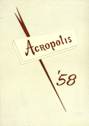 Scotia Glenville High School - Acropolis Yearbook (Scotia, NY) online yearbook collection, 1958 Edition, Page 1