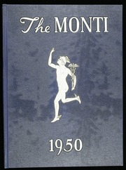1950 Edition, Monticello High School - Monti Yearbook (Monticello, NY)
