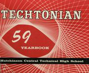 1959 Edition, Hutchinson Central Technical High School - Techtonian Yearbook (Buffalo, NY)