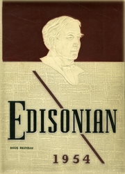 Edison Technical High School - Edisonian Yearbook (Rochester, NY) online yearbook collection, 1954 Edition, Page 1