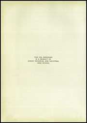 Page 6, 1954 Edition, Edison Technical High School - Edisonian Yearbook (Rochester, NY) online yearbook collection