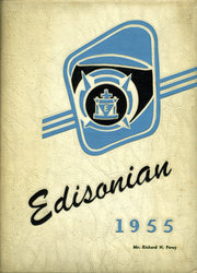 Edison Technical High School - Edisonian Yearbook (Rochester, NY) online yearbook collection, 1955 Edition, Page 1