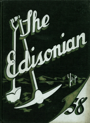Edison Technical High School - Edisonian Yearbook (Rochester, NY) online yearbook collection, 1958 Edition, Page 1