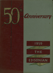 Page 1, 1959 Edition, Edison Technical High School - Edisonian Yearbook (Rochester, NY) online yearbook collection