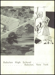 Page 7, 1957 Edition, Babylon High School - Trawler Yearbook (Babylon, NY) online yearbook collection