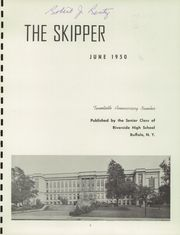 Page 5, 1950 Edition, Riverside High School - Skipper Yearbook (Buffalo, NY) online yearbook collection