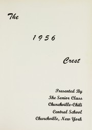 Page 5, 1956 Edition, Churchville High School - Crest Yearbook (Churchville, NY) online yearbook collection